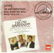 Cover: Albert Lortzing: Zar und Zimmermann