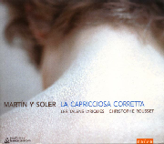 Cover: Vincente Martín y Soler: La caprissiosa corretta