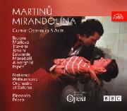 Cover: Bohuslav Martinů: Mirandolina
