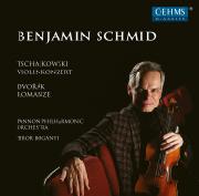 Cover: Tschaikowsky: Violinkonzert, Dvořák: Romanze
