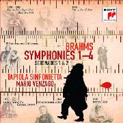 Cover: Brahms: Symphonien 1-4