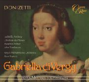 Cover: Gaetano Donizetti: Gabriella di Vergy
