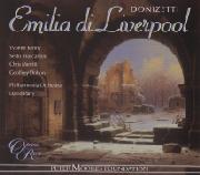 Cover: Gaetano Donizetti: Emilia di Liverpool