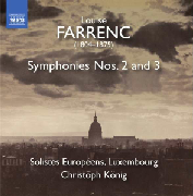 Cover: L. Farrenc: Symphonies 2 & 3