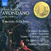 Cover: Pedro António Avondano: Il mondo della luna