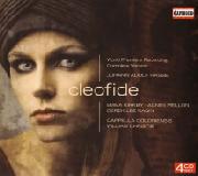 Cover: Johann Adolf Hasse: Cleofide