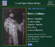 Cover: Modest Mussorgsky: Boris Gudunow